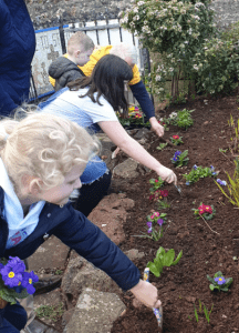 Messy Church Flower Planting 1st March 2020
